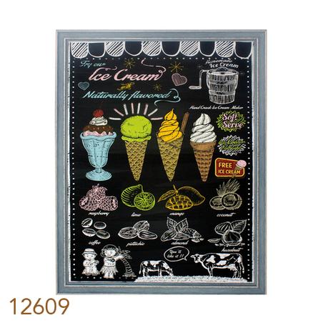 tela impressa c mold ice cream  80x60x3,5cm