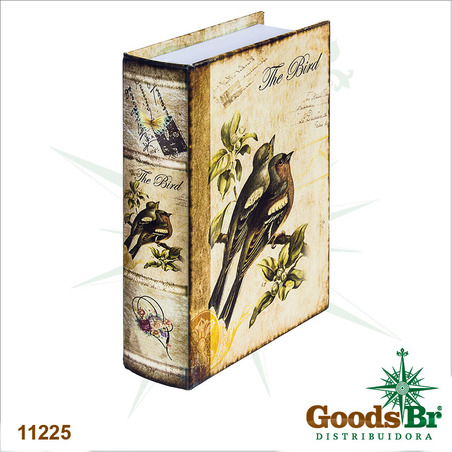 book phone passaros  22x15x6cm