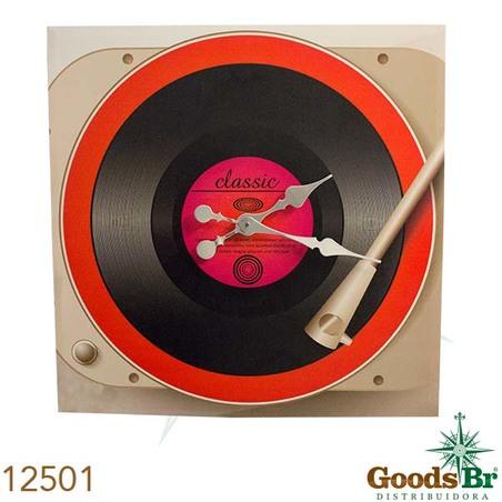 -relogio toca disco  60x60x10cm