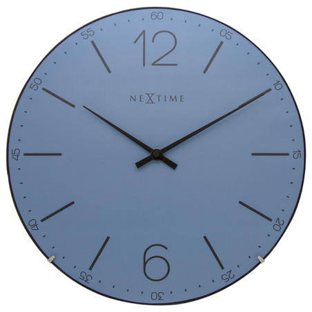 relogio parede index dome bluenextime d=35cm