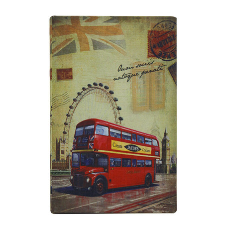 book box london bus  21,2x14x3cm