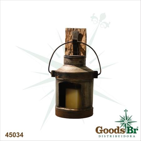-lanterna tarro antigo bas maddemolicao  70x34x34cm