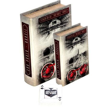 book box cj 2pc estaÇÂo luzsp  20x14x4cm