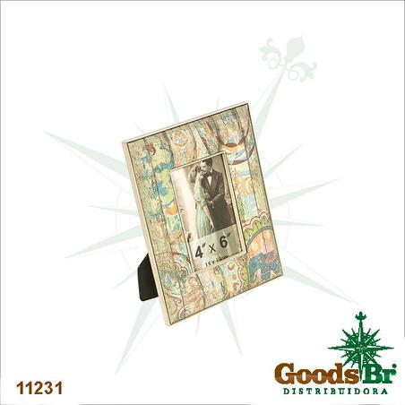 -porta retrato elefante india (10x15)  24x18x2cm
