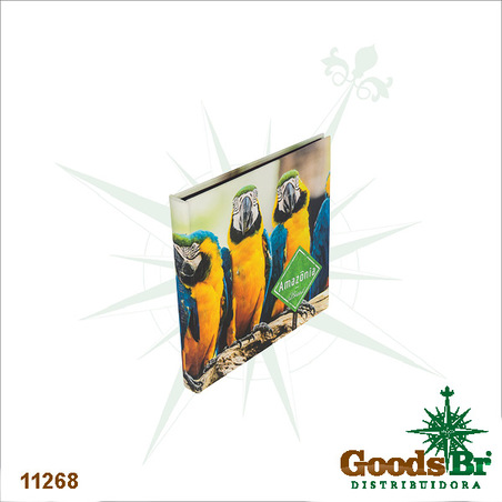 -album  araras amazonia  34x34x4cm