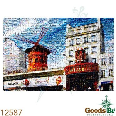 tela impressa imagens moulin  rouge  100x140x4cm