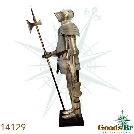 armadura em metal  190x70x96cm