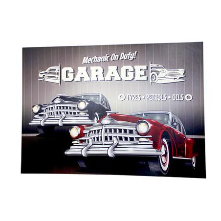 tela impressa com garageoldcars  100x140x4cm