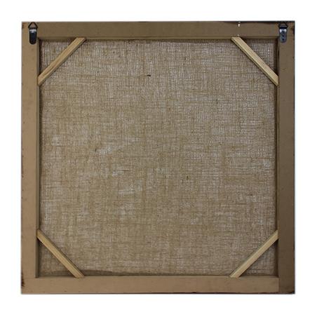 quadro linho hofbrau munchen  80x80x4cm