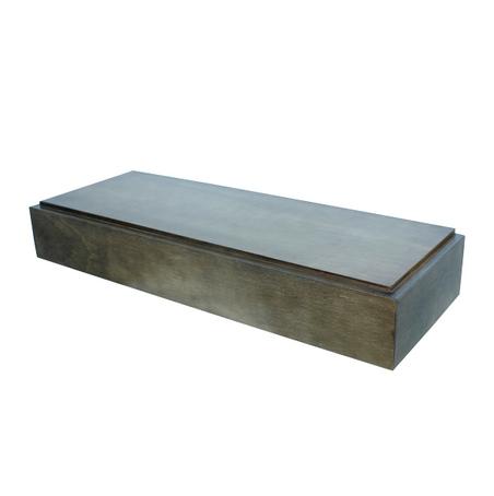 base em madeira para estante  13x86x32cm