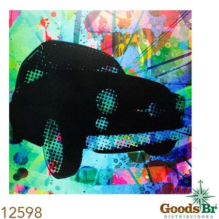 tela imp fusca lateral colors  120x120x4cm