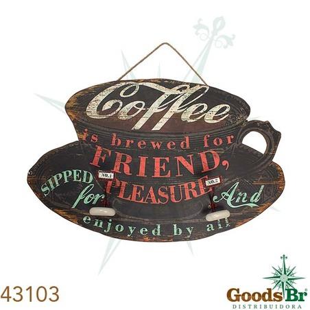 -placa em madeira coffe 57x91x2cm
