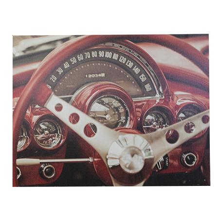tela impressa volante vermelho  60x80x4cm