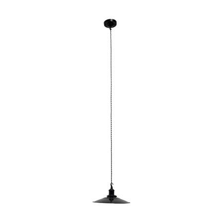 luminaria de teto black/white150x28x28cm