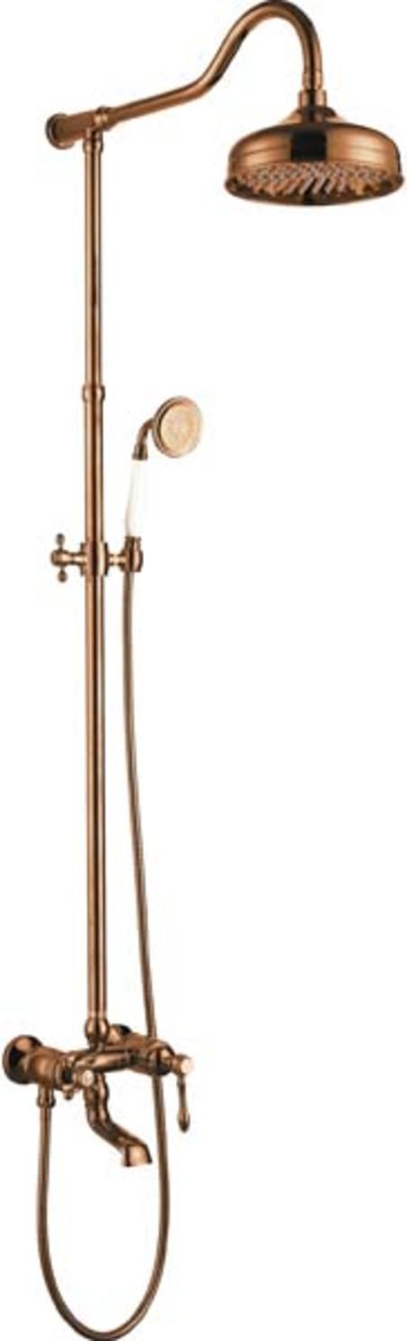coluna de banho rose gold st.claire