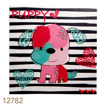 tela impressa pup  20x20x4cmx20x4cm