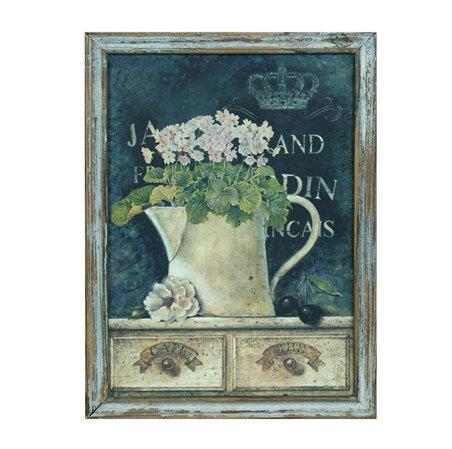 quadro flowers  40x30x1,5cm1,5cm