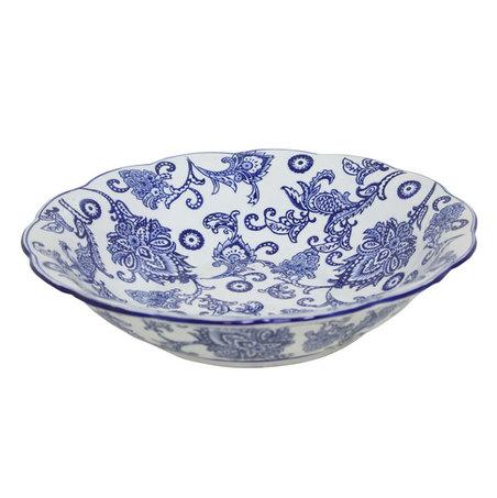 prato de porcelana  9x36x36cm