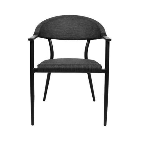 cadeira armacao aluminio darkgrey 80x56x58cm