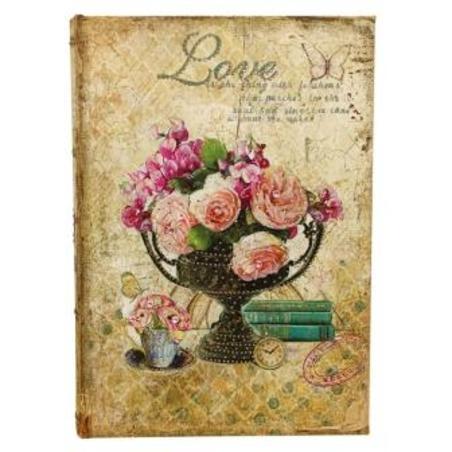 -porta joias em seda  vaso de flores  27x20x5cm