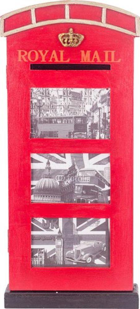 -quadro porta retrato-esp royal mail  54x24x7cm