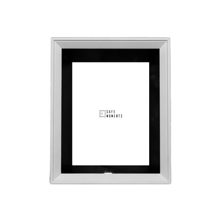 quadro safe moments preto/branco 23x28x7cm