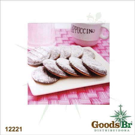 tela impressa cookies  40x40x1,8cm