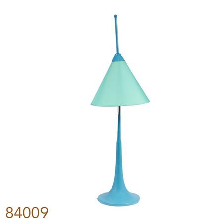 -abajur cupula movel azul claro baixo  77x25x25cm