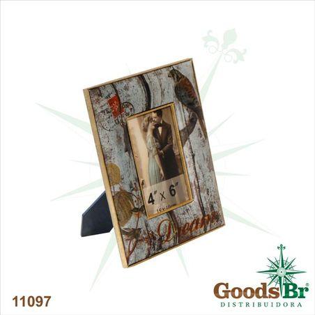porta retrato seda 10x15 birddream  24x18x1cm