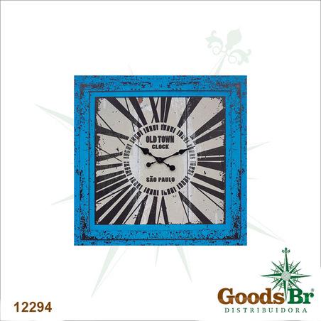 -relogio azul oldtown sÃo paulo  70x70x3cm