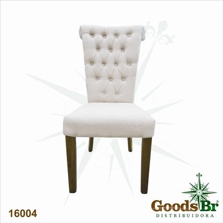 cadeira carvalho alta capitone  100x50x65cm