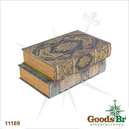 book shelf g em tecido class  33x22x14cm