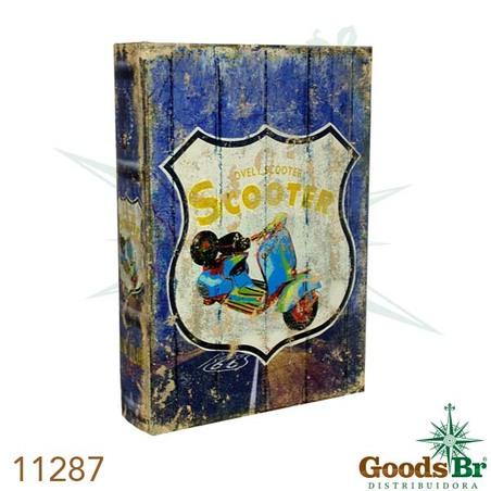 -book box cj 4pc scooter  30x21x7cm
