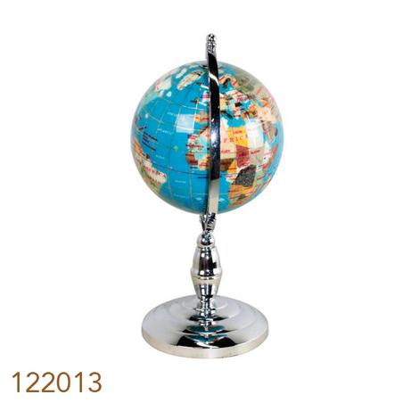 globo de pedras l. blue silver mini g d=15 23x22x22cm