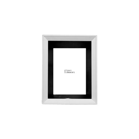 quadro safe moments preto/branco 25x20x7cm
