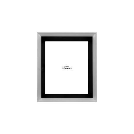 quadro safe moments preto/branco 30x35x7cm