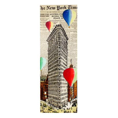 tela impressa nyt balloons40x120x4cm