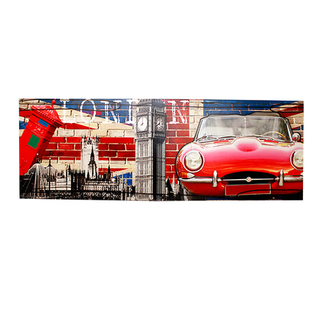 -tela impressa london wall  70x195x4cm