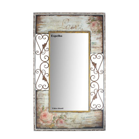 -espelho arabecs flores love150x90x5cm