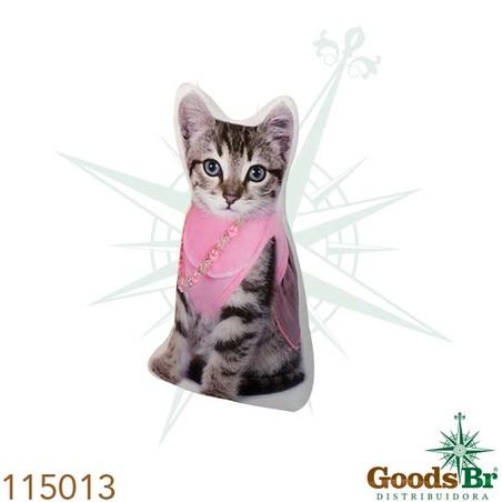 peso para porta gato lenco rosa  33x20x9cm