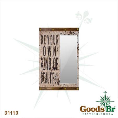 espelho beyond your kind ofbeautiful  110x70x6cm