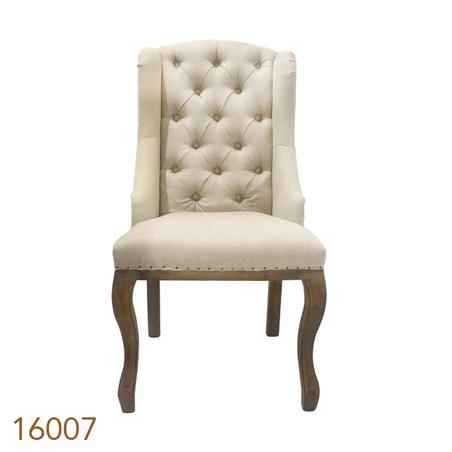 cadeira carvalho classica capitone  106x59x72cm