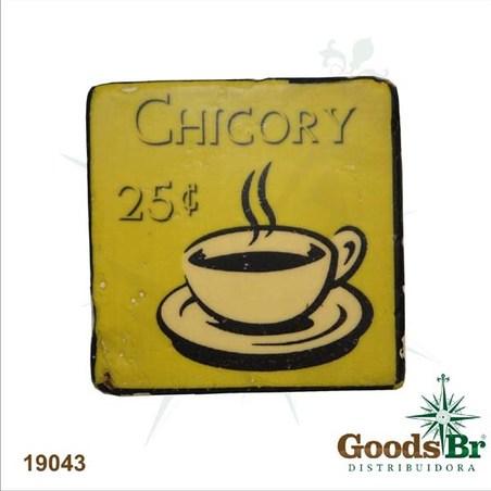 -porta copos resina chicory9,5x9,5x1,5cm