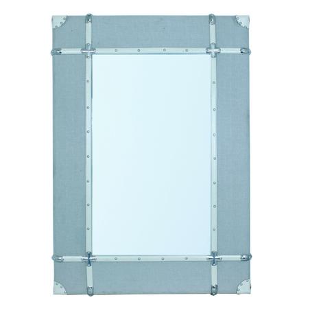 espelho emoldurado wood/line off white  120x85x8cm