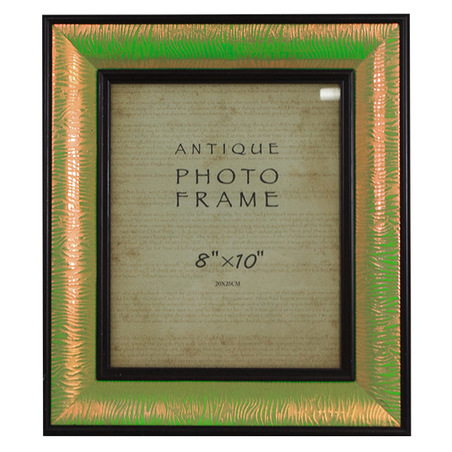 -porta retrato verde brilho 20x25  36x31x4cm