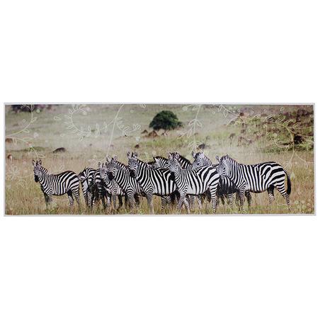 tela impressa africa zebras70x195x4cm