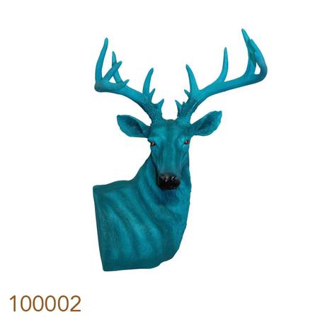 cervo design de mesa gg green  73x60x51cm