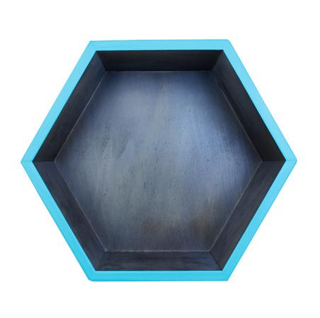 mÓdulo hexÁgono nog e azul41x48x30cm