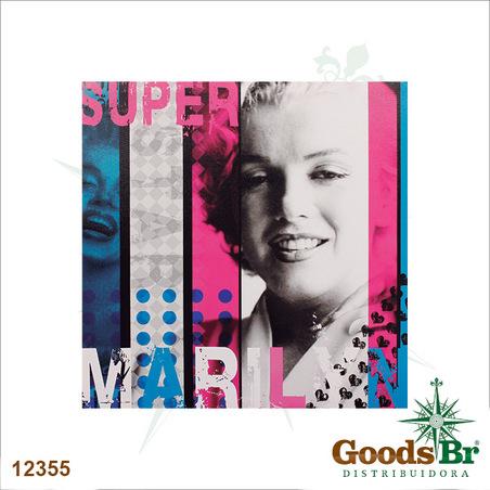 tela impressa super marylin50x50x3cm