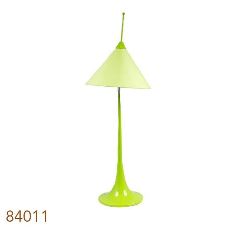 -abajur cupula movel verde alto  100x35x35cm